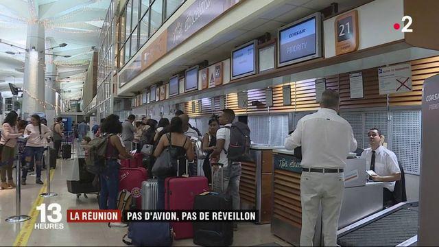 Vols annulés à La Réunion : des passagers ratent leur réveillon