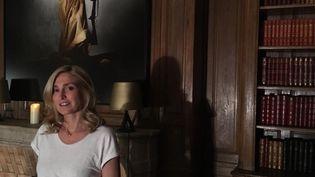 Julie Gayet, en octobre 2018. (NATHALIE BOURRUS / RADIO FRANCE)