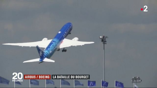 Airbus-Boeing : résultats de la bataille du Bourget pour les avionneurs
