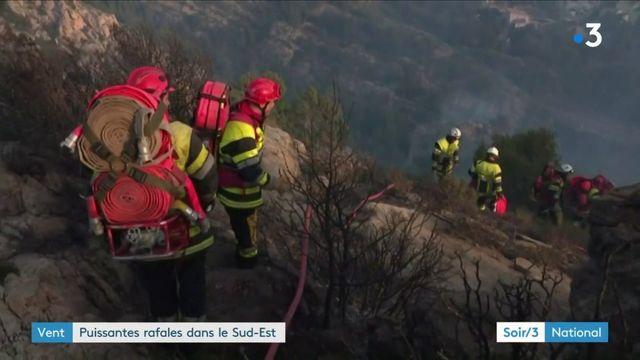 Intempéries meurtrières en Corse, incendies dans le Sud