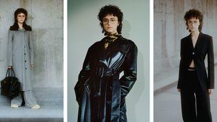 Ella Emhoff, la belle-fille de Kamala Harris, au défilé Proenza Schouler automne-hiver 2021-22 à la Fashion Week de New York, en février 2021 (Daniel Shea / Proenza Schouler / AFP)