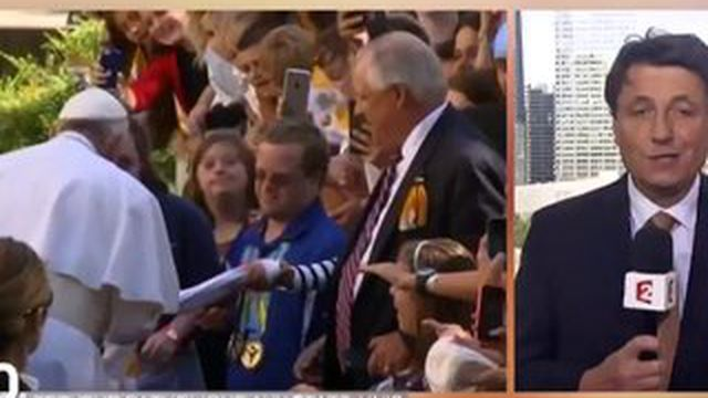 La première visite du pape aux États-Unis est un succès