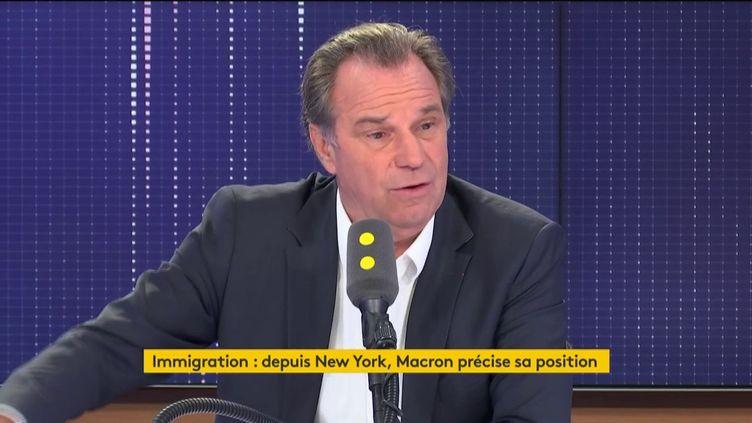 Renaud Muselier, sur franceinfo jeudi 26 septembre. (FRANCEINFO / RADIOFRANCE)