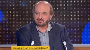 Hervé Le Treut (Capture d'écran franceinfo)