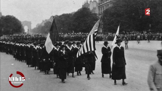"""VIDEO. """"13h15"""". Quand 20 000 infirmières américaines sont venues soigner les blessés de la guerre 14-18"""