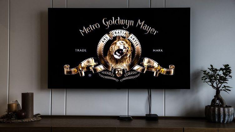 Logo actuel de Metro Goldwyn Mayer (MGM) depuis 2021 (OZGE ELIF KIZIL / ANADOLU AGENCY)