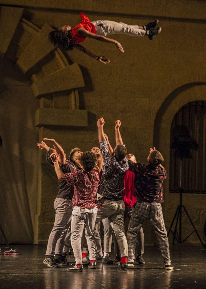 8 danseurs marocains au Festival de hip-hop de Suresnes  (Michel Cavalda)