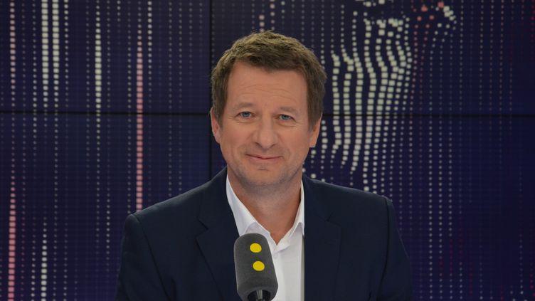Yannick Jadot, député européen Europe Ecologie-Les Verts, était l'invité de franceinfo. (JEAN-CHRISTOPHE BOURDILLAT / RADIO FRANCE)