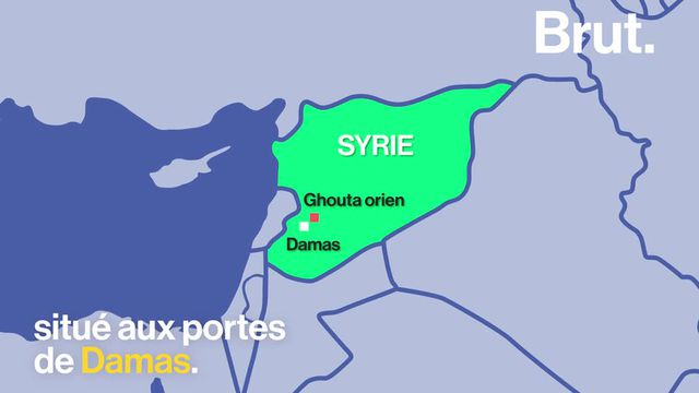 Brut : Ghouta Syrie