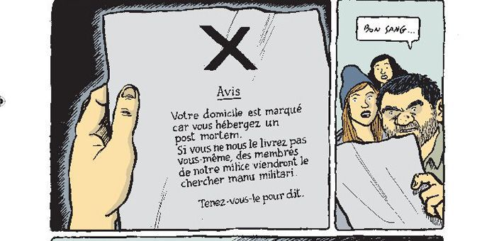 """Post Mortem""  (Ed.Gallimard collection Bayou)"
