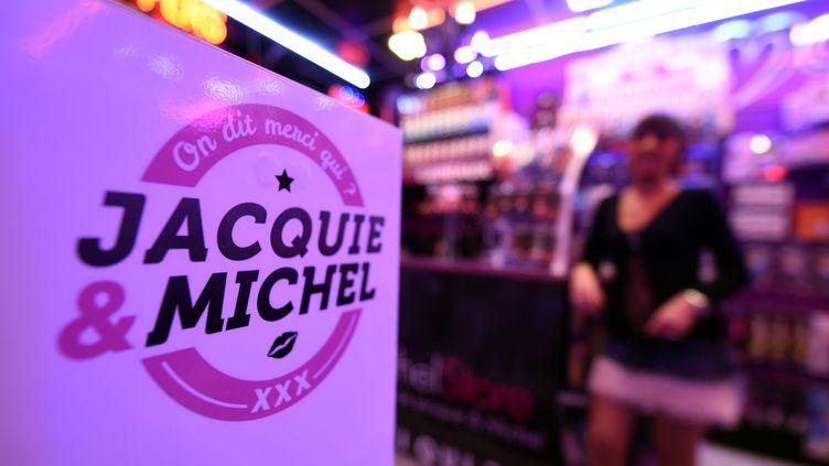 Lors de l'ouverture du deuxième magasin Jacquie et Michel, à Nancy (Meurthe-et-Moselle), le 28 mai 2016. (MAXPPP)