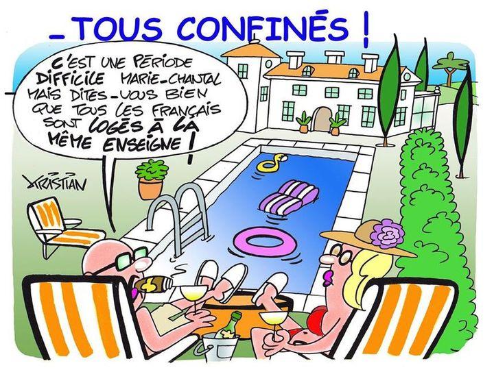 Confinement à la piscine (Kristian)