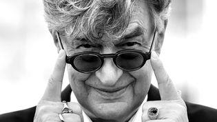 """Le réalisateur Wim Wenders à Cannes poour la projection du documentaire """"Le pape François : un homme de parole"""", mai 2018  (ALBERTO PIZZOLI / AFP)"""