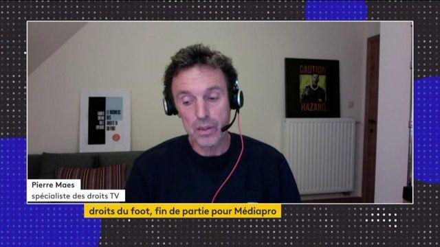 """Droits TV du football : """"La bulle a explosé"""", constate Pierre Maes"""