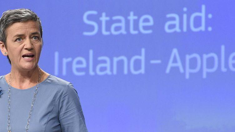 La commissaire européenne à la Concurrence, la Danoise Margrethe Vestager. (afp/John Thys)