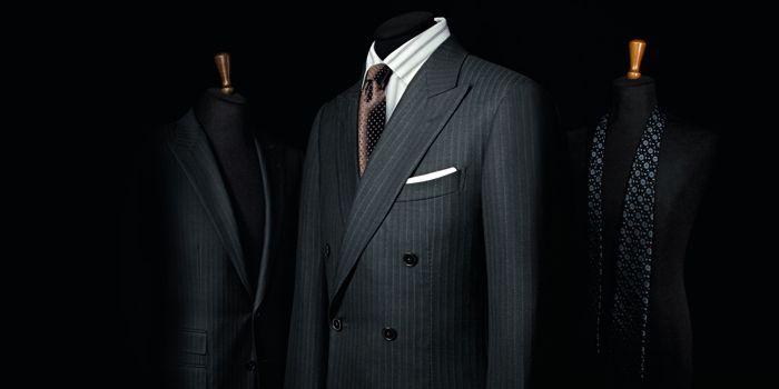 La ligne «Su Misura» de Zegna permet au client de choisir le tissu, le style et les détails qui personnalisent le vêtement..  (DR)