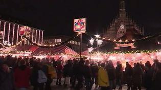 Marché de Noël de Nuremberg, en Allemagne. (FRANCE 2)