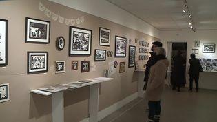 """L'exposition """"Papiers découpés"""" est visible à la galerie Alter-Art, à Grenoble, jusqu'au 18 avril 2021. (France 3 Alpes)"""