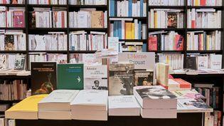 La librarie de la Bibliothèque Nationale de France François Mitterrand, à Paris (2021). (LEO PIERRE / HANS LUCAS)