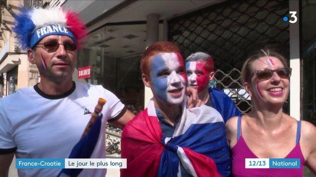 Coupe du monde 2018 : les Français croient en la victoire face aux Croates