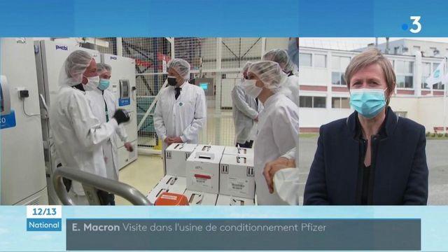 Vaccin contre Covid-19 : Emmanuel Macron confirme la fabrication de 250 millions de doses en France