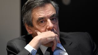 François Fillon, le candidat Les Républicains à la presidentielle, en janvier 2017. (RAINER JENSEN / DPA)