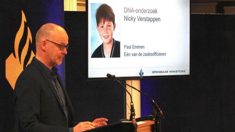 Après avoir lancé un appel à plus de 20 000 hommes afin de collecter des échantillons d'ADN en janvier 2018, les enquêteurs néerlandais avaient annoncé avoir trouvé un suspect, identifié comme étant Jos Brech. (RALF ROEGER / DPA / AFP)