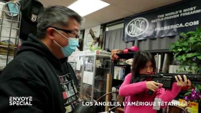 """Envoyé spécial. """"Quand il n'y aura plus de nourriture, vous verrez ce qui va arriver"""" : ruée sur les armes à feu à Los Angeles, tétanisée par le coronavirus"""