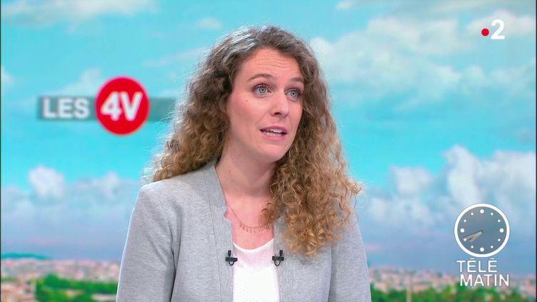 Sophie Chassot, membre du Women 7. (France 2)