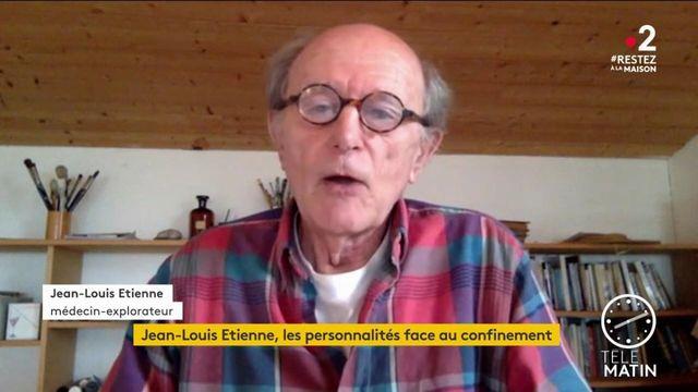 """Confinement : """"Il faut apprendre à se déshabituer du monde"""", selon Jean-Louis Étienne"""