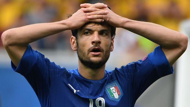 Thiago Motta est observé par tout un pays qui tourne au ralenti pendant l'Euro. (PASCAL GUYOT / AFP)
