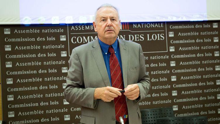Dominique Raimbourg en 2016 à l'Assemblée nationale. (CHRISTOPHE MORIN / MAXPPP)