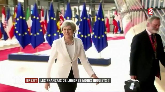 Brexit : les Français de Londres moins inquiets?