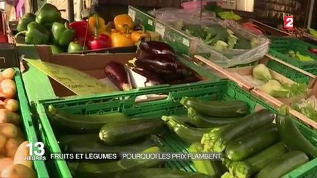 Fruits et légumes : pourquoi les prix flambent