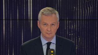 Bruno Le Maire, ministre de l'Economie et des Finances. (JEAN-CHRISTOPHE BOURDILLAT / RADIO FRANCE)