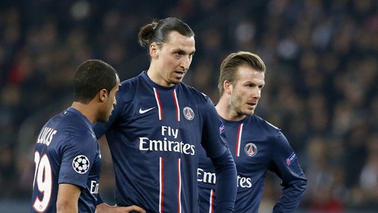 Lucas, Ibrahimovic et Beckham