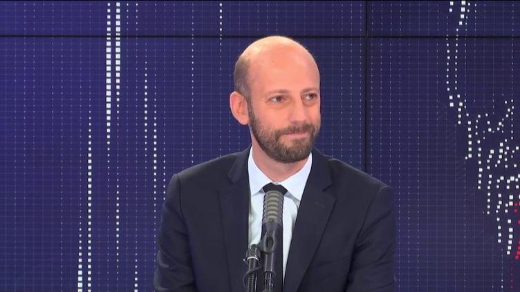 Stanislas Guerini, délégué général de La République en marche, invité de franceinfo mercredi 24 juin 2020. (FRANCEINFO / RADIO FRANCE)