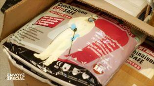 """""""Ç'a été un miracle"""" : dans cet Ehpad des Vosges, les dons en matériel sont arrivés alors que le dernier carton de blouses se vidait (ENVOYÉ SPÉCIAL  / FRANCE 2)"""