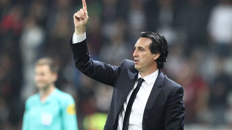 L'entraîneur du PSG, Unai Emery