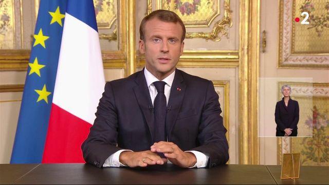 Mort de Jacques Chirac : Emmanuel Macron rend hommage à Jacques Chirac lors d'une allocution télévisée