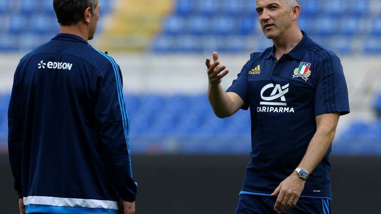Brendan Venter, lorsqu'il évoluait auprès de l'équipe nationale d'Italie   (MATTEO CIAMBELLI / NURPHOTO)