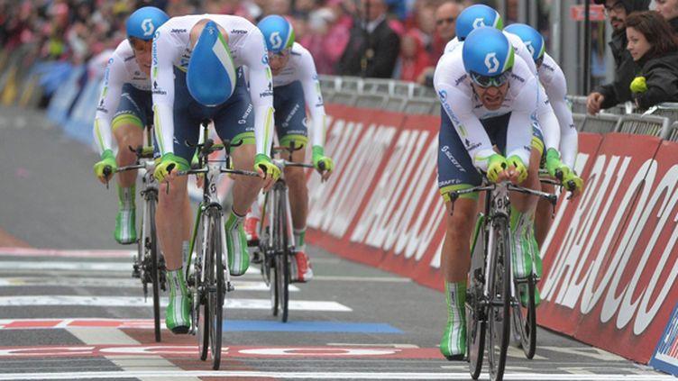 Svein Tuft avait terminé dernier du Tour de France 2013. (LUCA ZENNARO / MAXPPP)