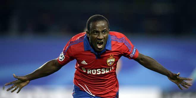L'attaquant ivoirien du CSKA Moscou, Seydou Doumbia