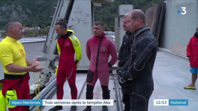 Tempête Alex : les Alpes-Maritimes se remettent peu à peu