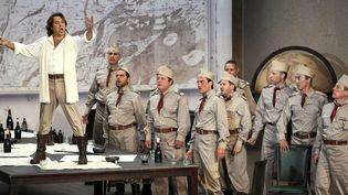 """""""Le Cid"""" de Massenet, avec Roberto Alagna (ici à Marseille en 2011), est l'une des productions présentées à l'Opéra de Paris la saison prochaine.  (Anne-Christine Poujoulat/AFP)"""