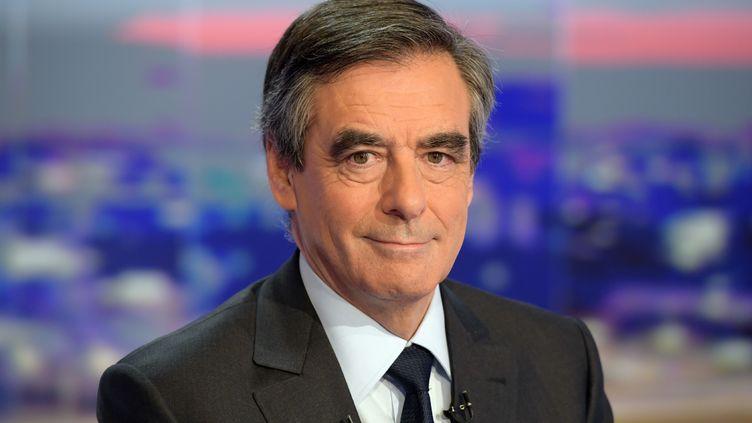François Fillon, le 21 novembre 2016, sur le plateau de TF1 (CHRISTOPHE ARCHAMBAULT / AFP )