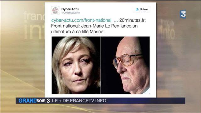 Le + de Francetv info : les petites histoires de la famille Le Pen inspirent les réseaux sociaux