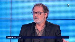 Christophe Alévêque présente son nouveau spectacle. (FRANCE 3)
