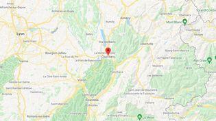 La ville Chambéry en Savoie. (GOOGLE MAPS / FRANCETV INFO)
