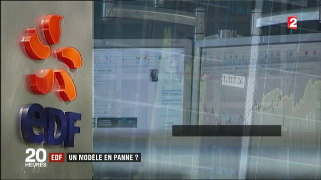 Entreprise : EDF annonce la baisse de son chiffre d'affaires